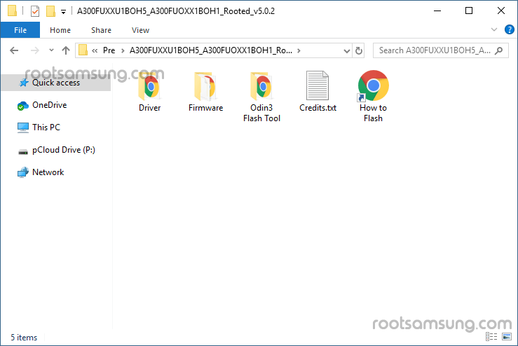 samsung pre-rooted firmware